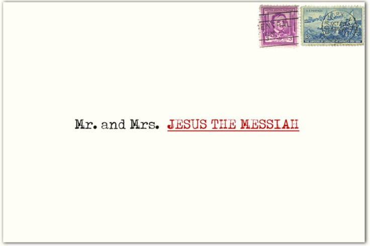 Mr and Mrs Jesus The Messiah 2